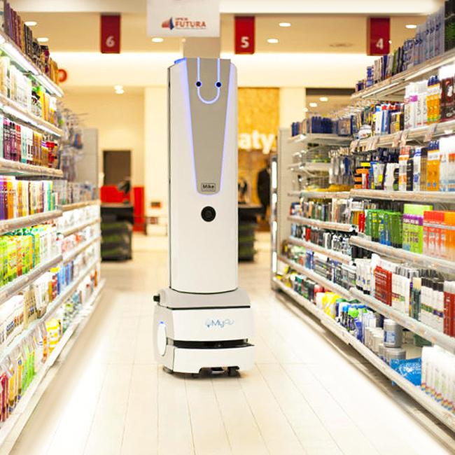 Mike: il primo Retail Robot in servizio nei supermercati italiani